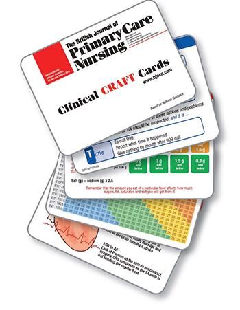 nursing diagnosis cards with cards